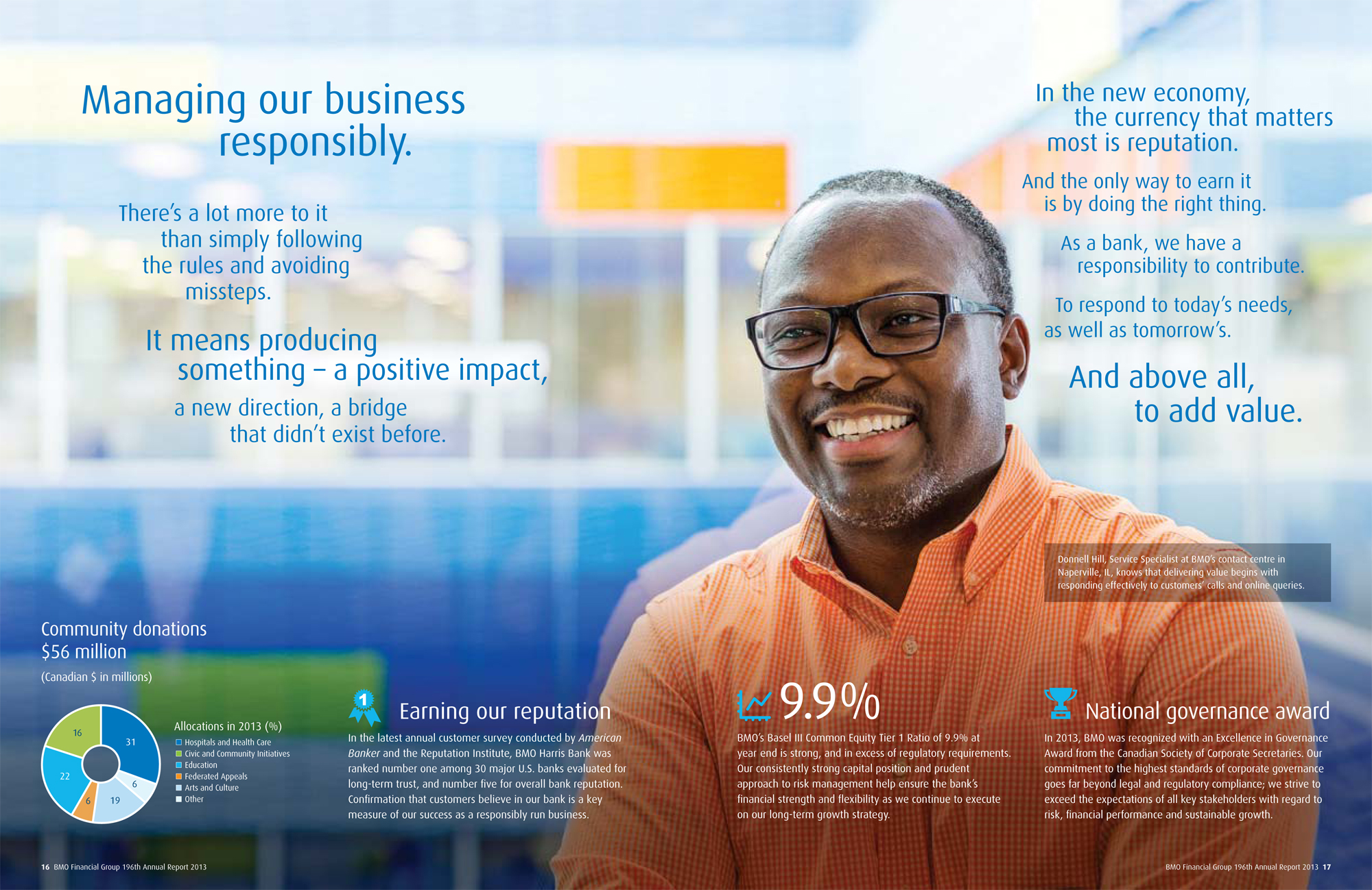 196th Annual Report 2013 - BMO Financial Group